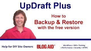 UpdraftPlus - Backup and Restore with Free Version