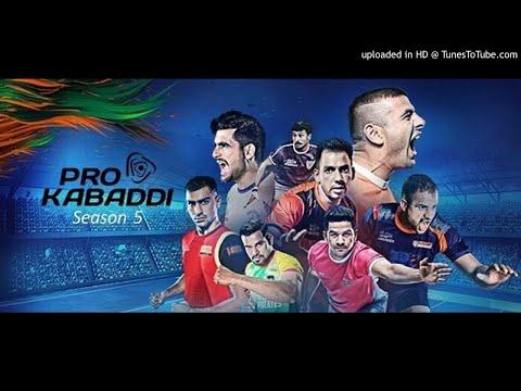 pro kabaddi all team theme song 2017 bysahil