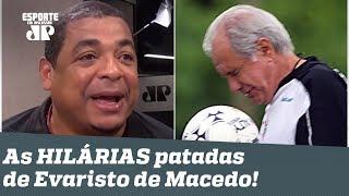 """Histórias do Vampeta: as melhores PATADAS do """"delicado"""" Evaristo de Macedo!"""