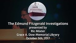 Library Lecture Series | The Edmund Fitzgerald Exploration