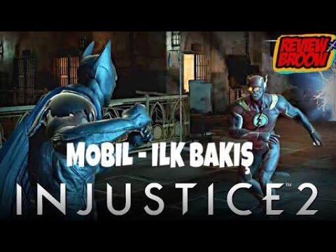 INJUSTICE 2 MOBIL - İLK BAKIŞ