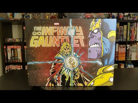 Infinity Gauntlet Slipcase Boxset: Spotlight Review