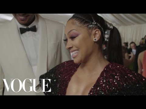 La La and Carmelo Anthony on Gala Preparation and Cell Phone Etiquette | Met Gala 2016