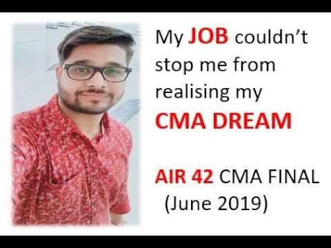 Is It Possible To Study For CMA With Full Time Job ?