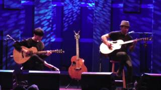 (U2) With or Without You - Sungha Jung and Trace Bundy (live)