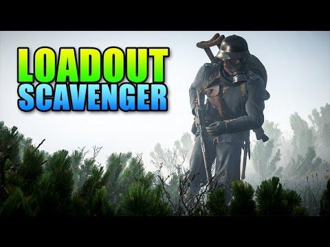 Loadout - No Gun Scavenger! | Battlefield 1 Gameplay