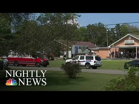 One Killed, Six Wounded In Nashville Church Shooting | NBC Nightly News