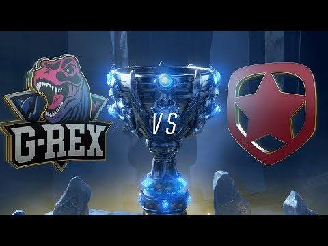 GRX vs. GMB | Play-In Groups | 2018 World Championship | G-Rex vs. Gambit Esports (2018)