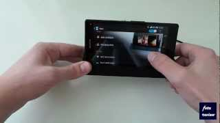 Sony Xperia Z Docking Station Review