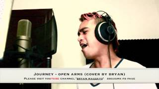 Journey - Open Arms  cover By bryan