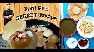 Original pani puri SECRET recipe by chef Jawad