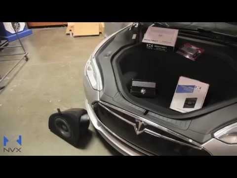 Tesla model s sound