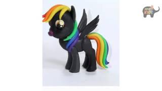 Cách Nặn Chú Ngựa Pony Màu Đen