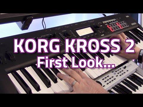NEW RELEASE! Korg Kross v2 Workstation Keyboards - First Look & Demo with Luke Edwards