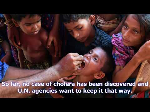 Oral cholera vaccination campaign for rohingya refugees begins- [News 24h]