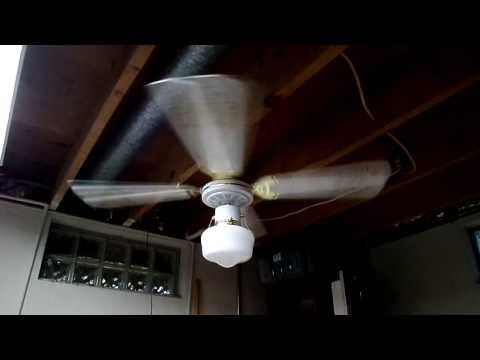 1992 J&P Manufacturing 42'' Ceiling Fan Model M42 - YouTube