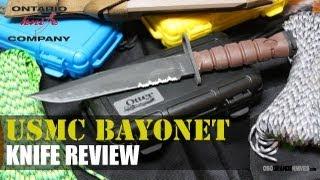 Ontario Knives USMC Multi Purpose Bayonet Review | OsoGrandeKnives