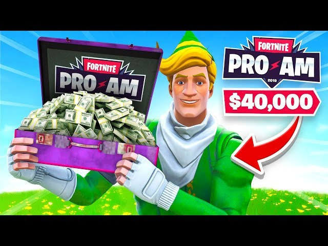 How We WON $40K For Charity in the Fortnite Pro-Am!