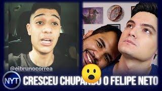 Bruno do Felipe Neto é AMASSADO por Ytber que deu spoilers de Vingadores no cinema