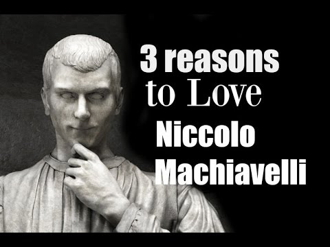 A description of human nature in the book the prince by machiavelli