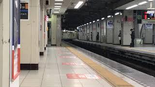 東武東上線 池袋 4・5番線ホームドア設置工事開始前日②