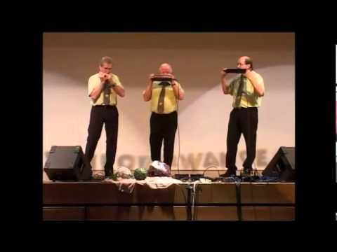 Trio Piranhas - Largo al Factotum (Il Barbiere di Seviglia - Cavatina di Figaro - Rossini)