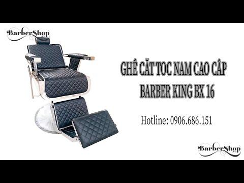 Ghế cắt tóc nam cao cấp Barber King BX-16