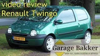 Video review Renault Twingo 1.2 Quickshift Automaat Expression, 2001, 48-HF-FP