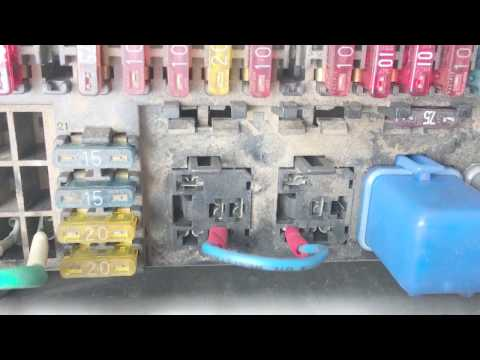 Isuzu Trooper Fuel Pump Circuit - YouTube