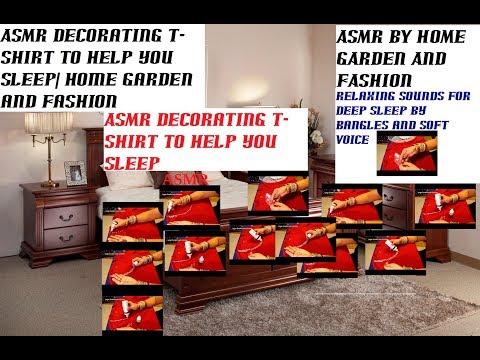 Asmr Decorating T Shirt To Help You Sleep Home Garden And Fashion