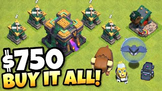 SPENDING $750 RIGHT WHEN TH14 DROPS! Clash of Clans