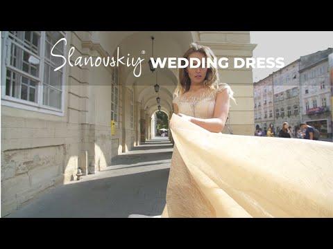 Slanovskiy Wedding Dresses Collection 2019. Dress 3.