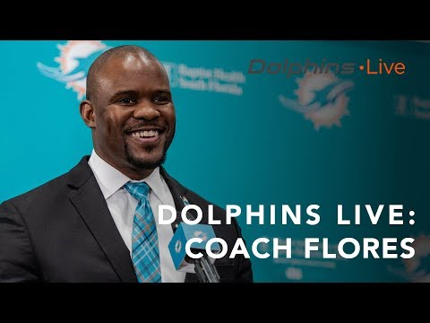 Dolphins Live: Stephen Ross, GM Chris Grier and Head Coach Brian Flores meet with the media.