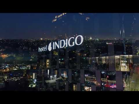 Hotel Indigo Los Angeles Drone Video