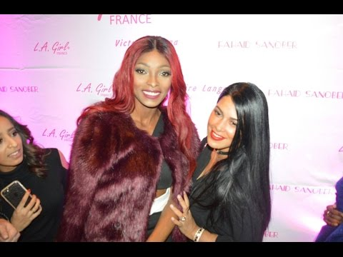 L'inauguration du nouveau showroom L.A. GIRL France avec Ayem Nour, Hapsatou sy, Eve Pamba etc...