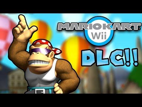 Mario Kart Wii DLC 2018!! (New Custom Tracks, LAN, Item Rain)