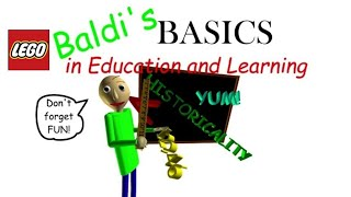 Lego Baldi basics stop motion