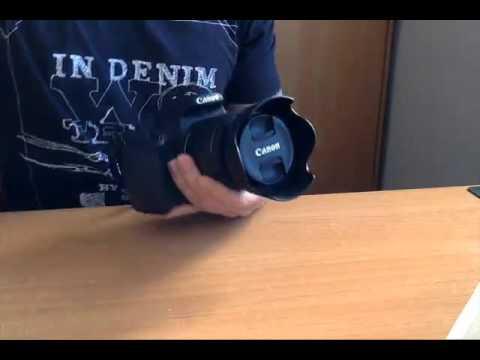 8504a7934048f Canon EW 63C Parasol para objetivos de 18 55mm