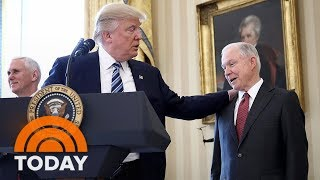 President Donald Trump Lashes Out At Jeff Sessions In Explosive New Interview | TODAY Free HD Video