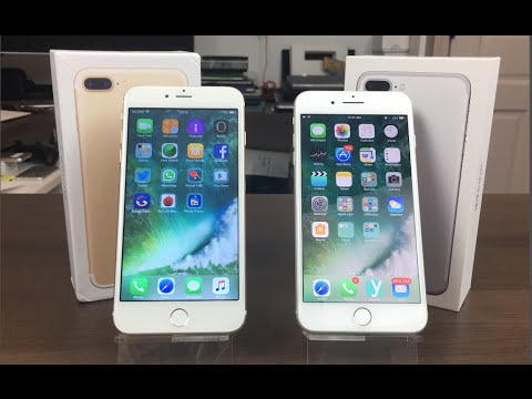 IPhone 7 Plus VS IPhone 7 Plus CLONE Comparativa Y