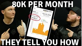 80k Per Month In 6 Months With Amazon FBA - KT Nine Tell You How!