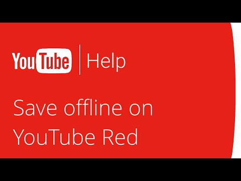 Save videos and playlists to offline on YouTube Red