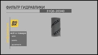 Запчасти для экскаваторов: Гидравлический фильтр 31Q6-20340(, 2015-02-24T08:37:04.000Z)