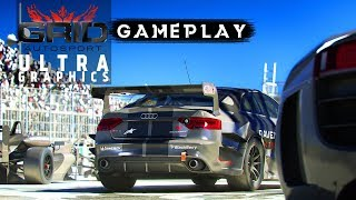 GRID Autosport iOS gameplay - ULTRA GRAPHICS