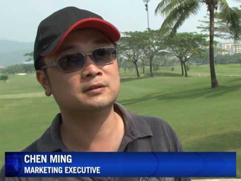 Sunny outlook for golfers in China