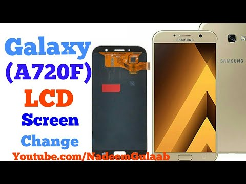 Samsung A720F (2018) LCD Screen Replacement ...