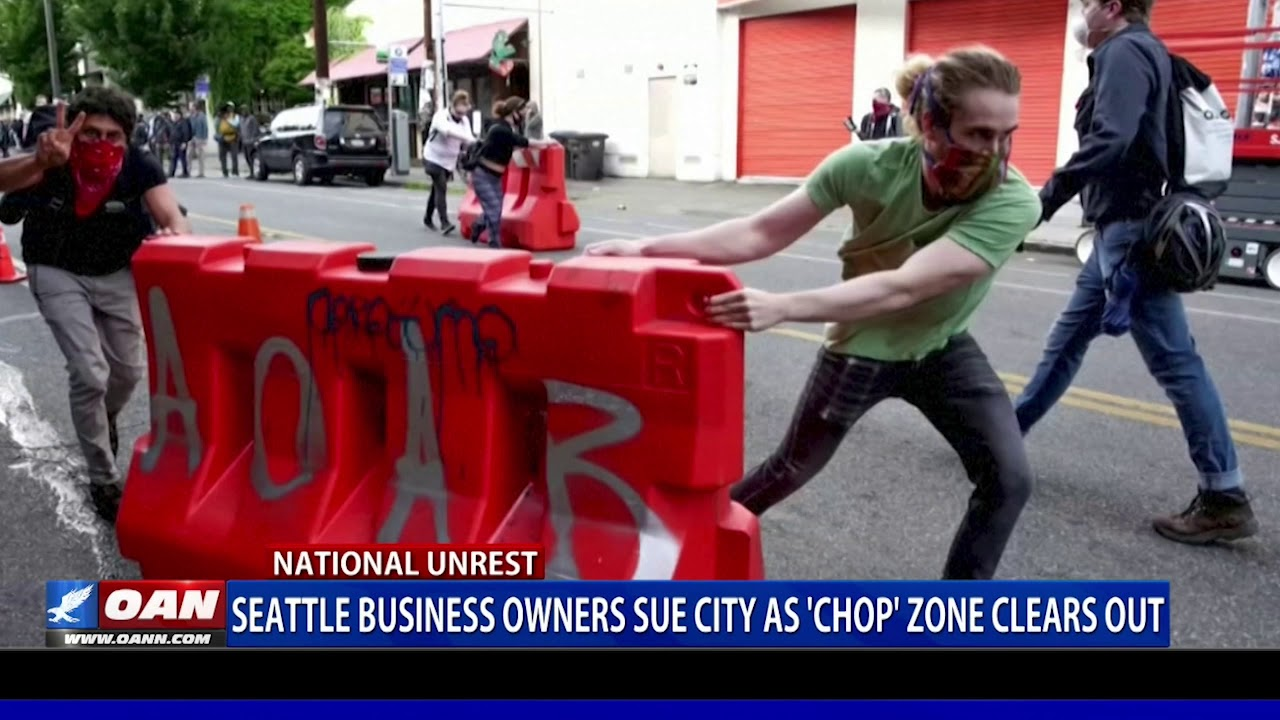 Seattle business owners sue city as 'CHOP' zone clears out