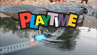 Thomas and Friends Swimming Underwater! it