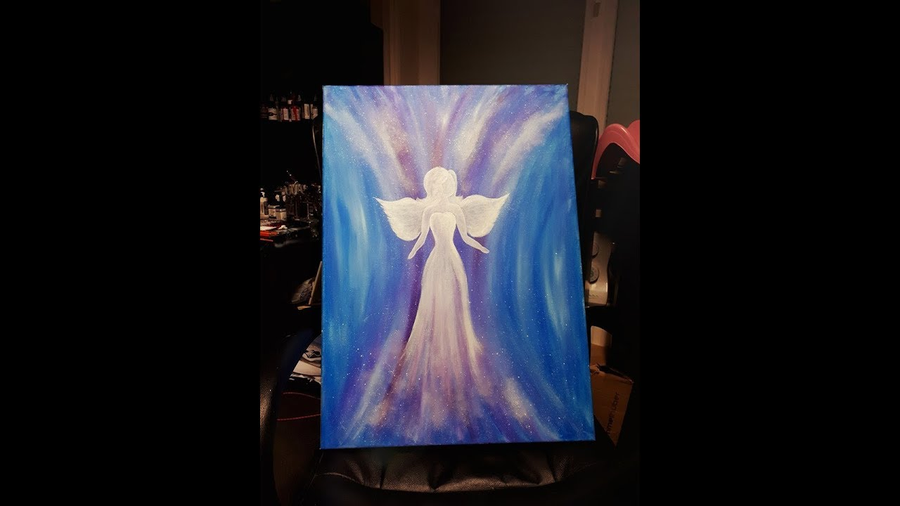 Angel In The Dream Acrylic Painting How To Paint Acrylic