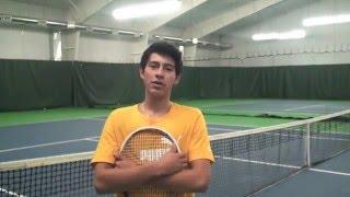 Marcos Salazar (ITF Player, #1 in Peru) Tennis Recruiting Video 2016